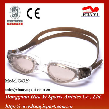 Profession water sport silicone custom swimming glasses