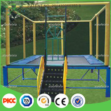 high quality jump wholesale cheap fitness funny customized kids indoor trampoline bed for kids and adults