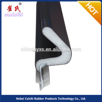 sound proof pu foam seal strip for exterior doors