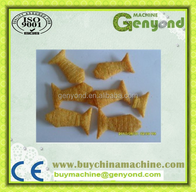 Automatic baked puff making&production line