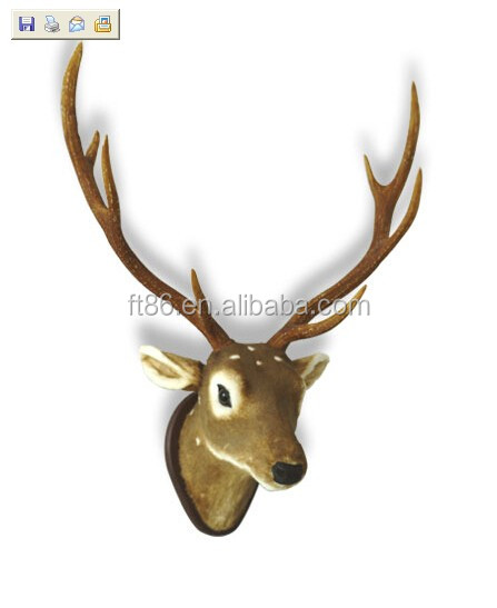High grade custom good quality Modern deer head islamic wall hangings