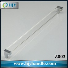 China online selling acrylic glass clear handle