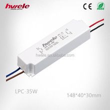 LPC-35W Similar to Meanwell LED constant current led driver with CE,RoSH,KC approved high warranty