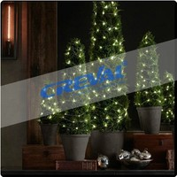 Eco-friendly low voltage outdoor decoration christmas tree lights
