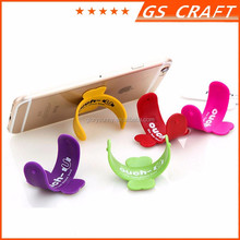 Customized silicone phone stand holder rubber cell phone stand