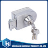 Aluminum alloy clamp inner body bottom glass door lock
