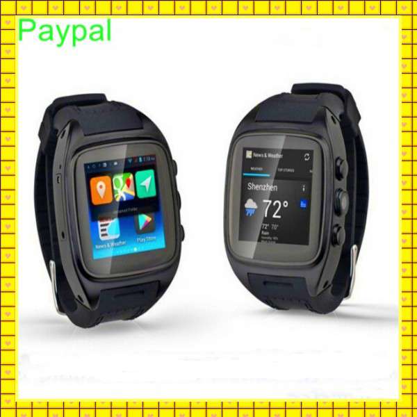 have WIFI GPS camera dual core 3g smart watch mobile phone