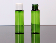 20ml clear small pet bottles with inner plug