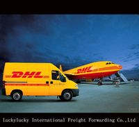 DHL courier tracking service from China to Saarbruecken