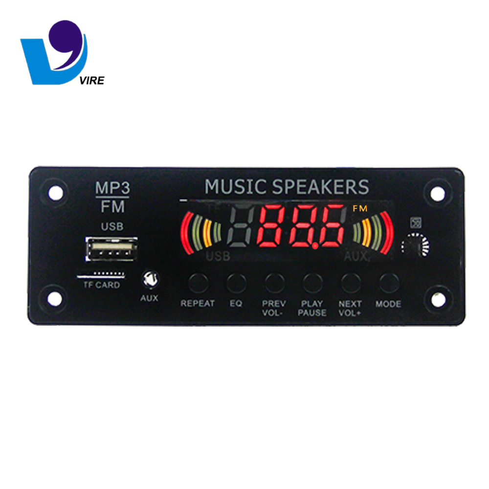 Mp3 Audio Amplifier Circuit Board With Bluetooth