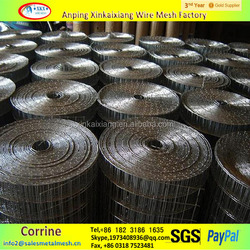"1/4"" pvc coated welded wire mesh/heavy gauge galvanized welded wire mesh"