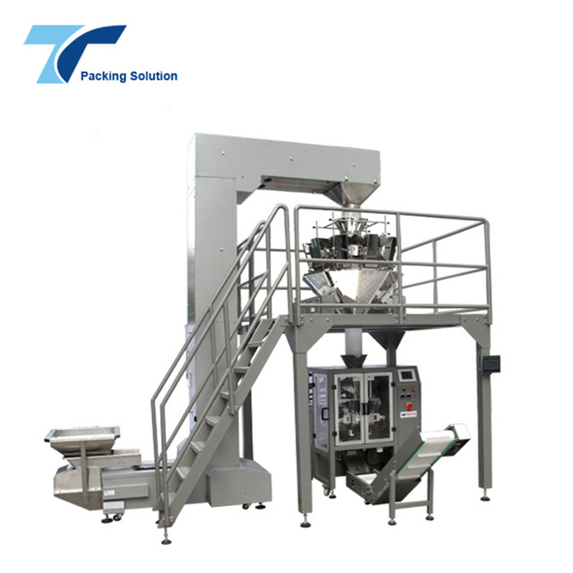 CE Approved 1Kg VFFS Vertical Form Fill and Seal Pillow Bag Doypack Cashew Nuts/Chestnut Packing Machine