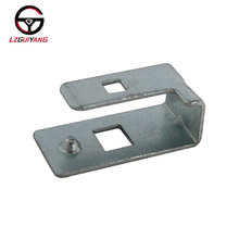 LZGUIYANG GY-SF-00T6 Electroplate Silver Stamping Car Wire Harness Mounting Bracket