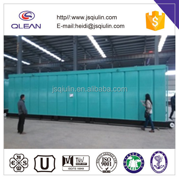 Steel water tank for NDC oil drilling rig