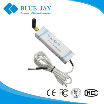 MRS-T-W 433Mhz Temperature Sensor with External Probe -20~+120C for Freezer compressor, agricultural Green Farm