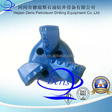 high quality for coal mining drilling 3 wing PDC cutter drag bits