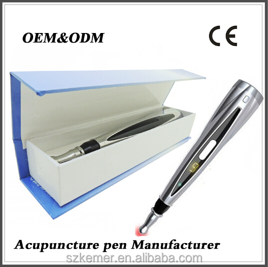 Biosensor Chinese medical acupuncture needle meridian infrared pen laser acupuncture pen