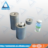 Medical radioactive liquid shielding tungsten alloy radiation shielding