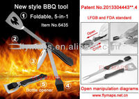 New style Multifunction BBQ tool,BBQ set