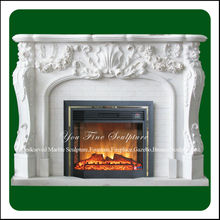 Decorative Exquisite Classic Indian Fireplace