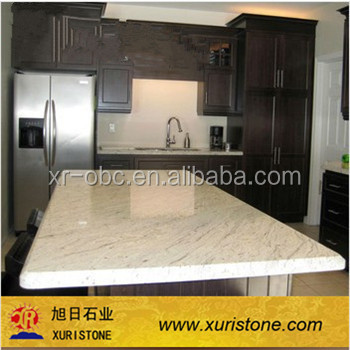 Cut-To-Size Stone Form and Kashmire White granite commercial bar countertop,table top