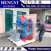 Super quality good block making machinery/clay brick making machine/cement brick making machine price in india
