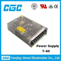 61W triple output switching power supply T-60