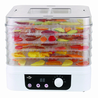 Digital timer vegetable dryer machine of 2015 best sales food dehydrator