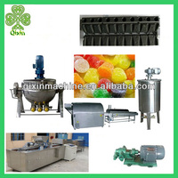 Automatic depositing jelly candy production line