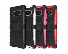 OEM Mobile Phone Accessories Covers of High Quality Rugged Case with Kickstand for Samsung Note 8