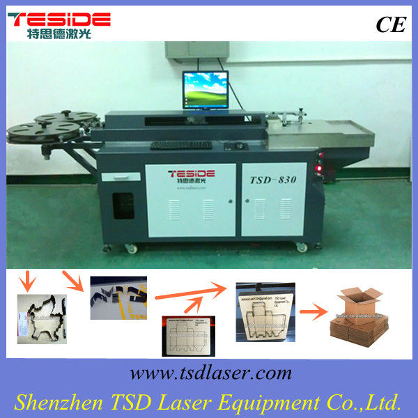 Newest style used in packing mould making,die making,box die plate making, rule bending machine