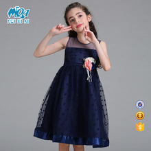 Party Wear Dress Net Baby Cotton Frocks Designs For Kids Girl Child Dress L1830