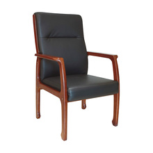 Family living room luxury chair chinese modern leather dining chair