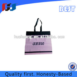 superior quality soft handle plastic tote bags from china supplier
