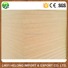 High quality Raw MDF board/interior wood board/Furniture mdf Board