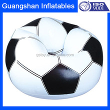 Custom sectional sofa inflatable football shaped sofa