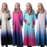 High-End abaya women muslim zip sleeve dubai abaya jalabiya