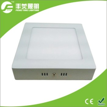24w square surface aluminum down light for office and supermarket
