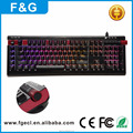 High quality aluminum macro programmable mechanical keyboard with aluminum case and multimedia function design for gaming
