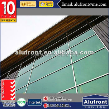 aluminum structural glass curtain wall