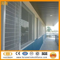 358 anti climb high security fence,358 security fence prison mesh,steel security window fence