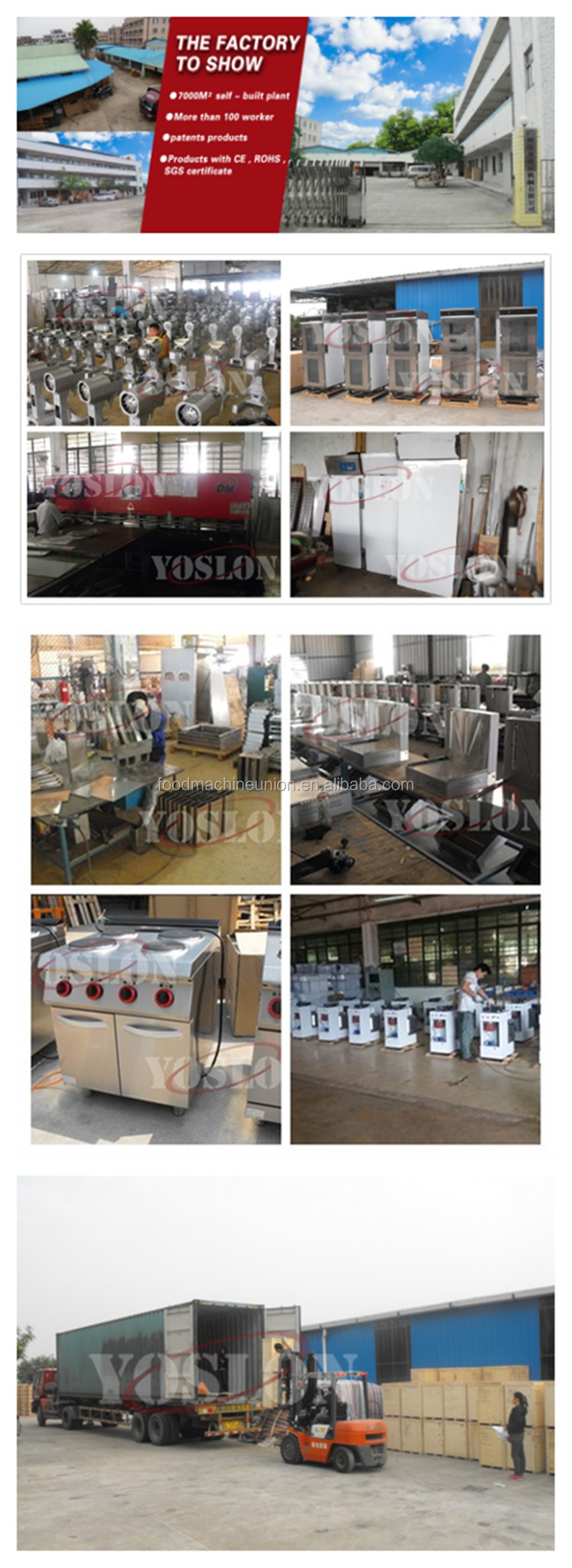 YOSLON hot sale 32trays proofer with automatic termostat from China