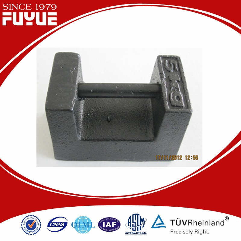 Professional 5kg crane test weight for wholesales