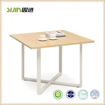 Sijin New Office Furniture Modern Small Meet Desk Table Design - Small square office table