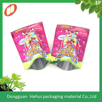 High quality plastic custom jelly drops packaging