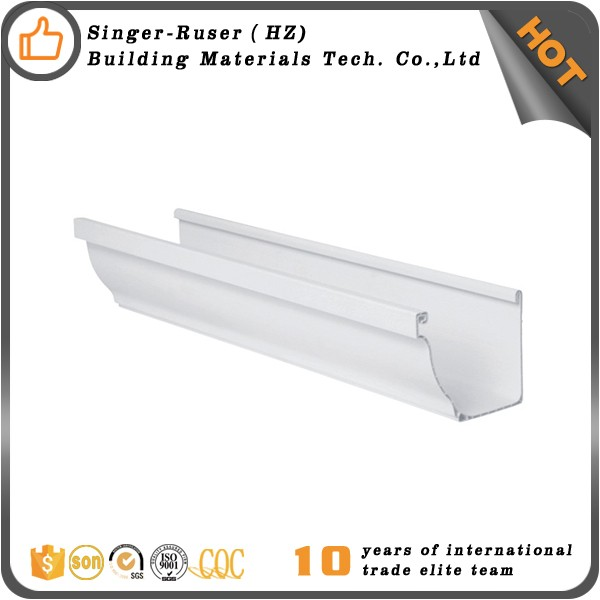 Professional Rain Gutter Material Roofing Rain Collector System Manufacturer HangZhou Singer San-gobuild plastic pvc roof drain