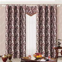 100 polyester new design blakout curtain fabric in china