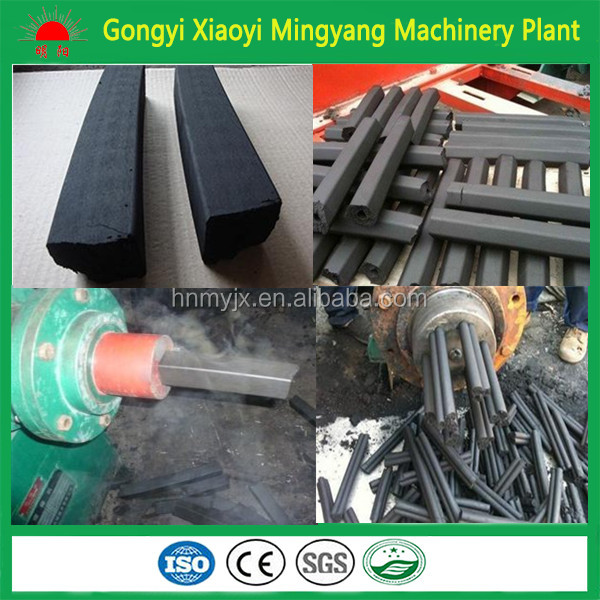High quality coal dust extruder machine/charcoal powder briquette making machine