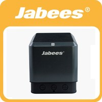A Pair of bluetooth wireless loudspeakers with Surround Sound from Jabees Qubic.TWS