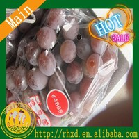 2015 factory price red globe table grapes